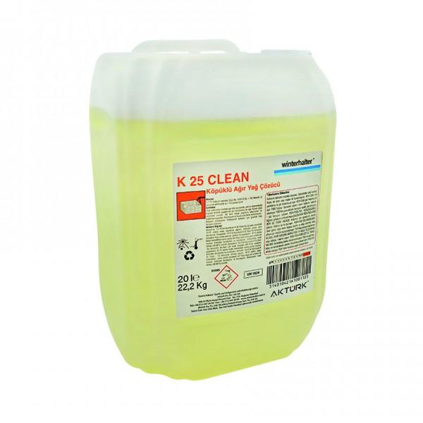 Winterhalter K-25 Clean Ağır Kir ve Yağ Çözücü 22,2 kg