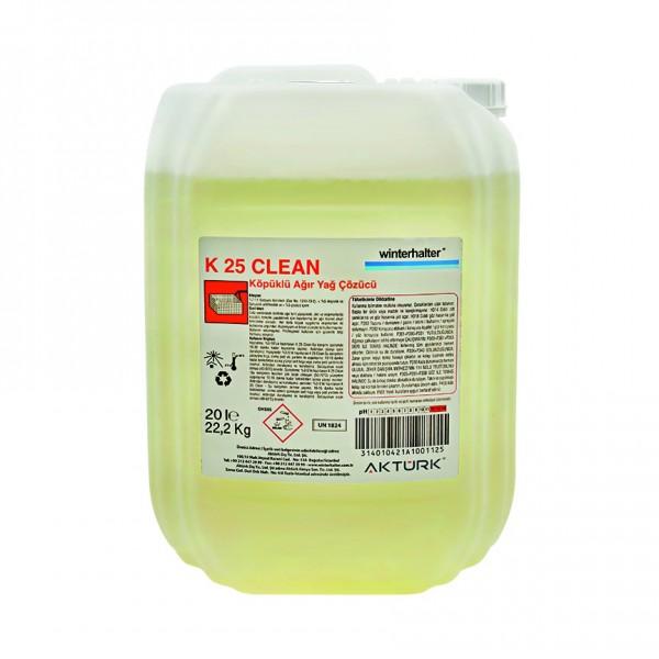 Winterhalter K-25 Clean Ağır Kir ve Yağ Çözü...