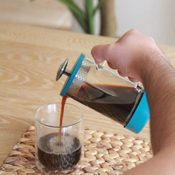 Barista & Co French Press - Teal 900ml