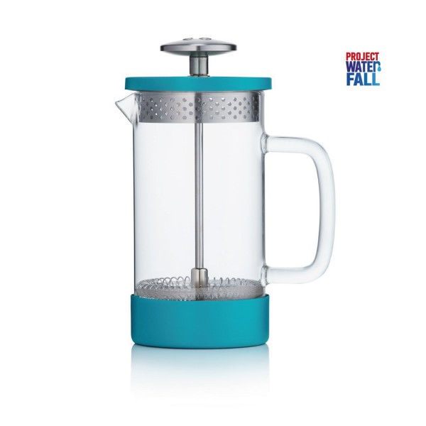 Barista & Co French Press - Teal 350ml