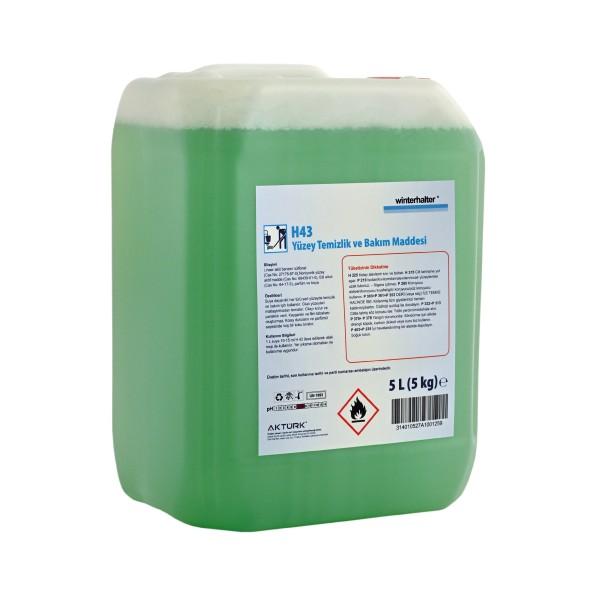 Winterhalter H43 Parlak Yüzeyler İçin Temizlik Bakımı Ürünü 5 kg