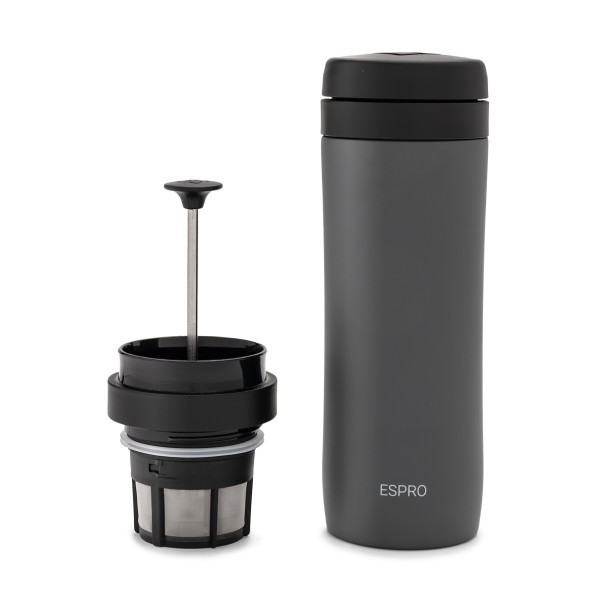Espro P1 Seyahat French Press Gunmetal Gri