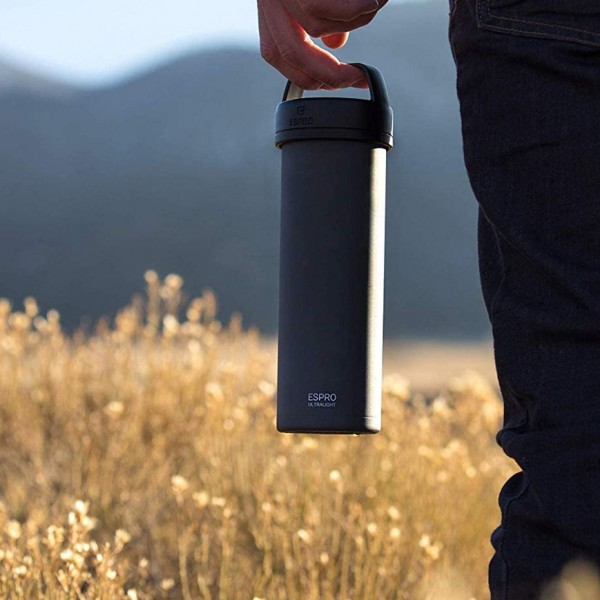 Espro P0 Ultralight Kahve Presi Siyah
